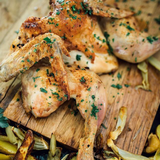 Rezept von Nina Hemmen: Spatchcock-Chicken