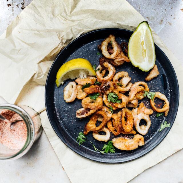 Rezept von Ross Dobson: Würziger Tintenfisch