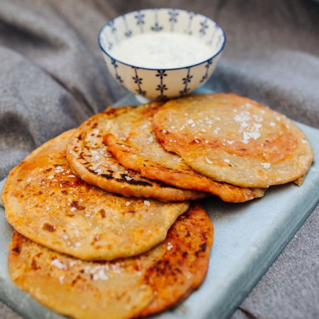 Rezept von Nadiya Hussain: Pizza-Paratha